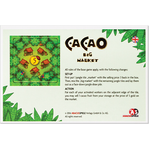 Cacao: Big Market Mini Expansion