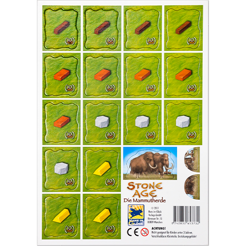 Stone Age: The Mammoth Herd Mini Expansion