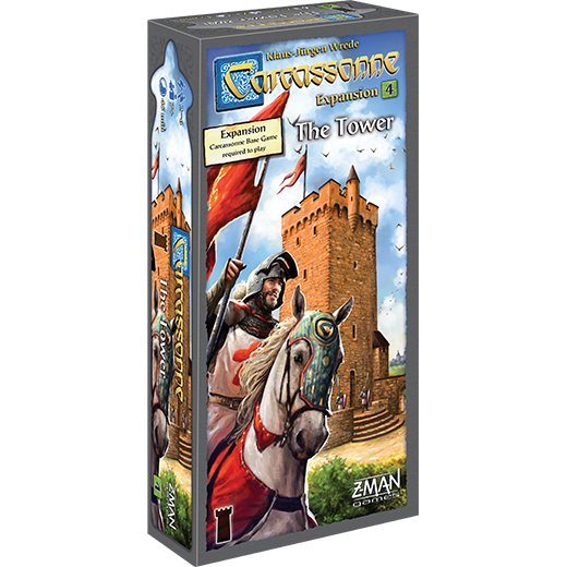 Carcassonne: Expansion 4 - The Tower