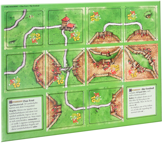 Carcassonne: The Festival Mini Expansion
