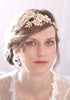 Flower Wedding Tiara with Enamel Flowers #802TA