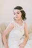 Crystal Lace Vine Wedding Headpiece #217HB-W