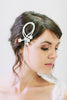 Crystal Vines with Flowers Hair Comb #106HC