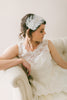 Feather Headpiece with lace Headband #205HB
