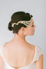 Dark Crystal Bridal Headpiece #226HB