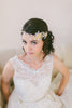 Lace and Crystal Wedding Headband #215HB