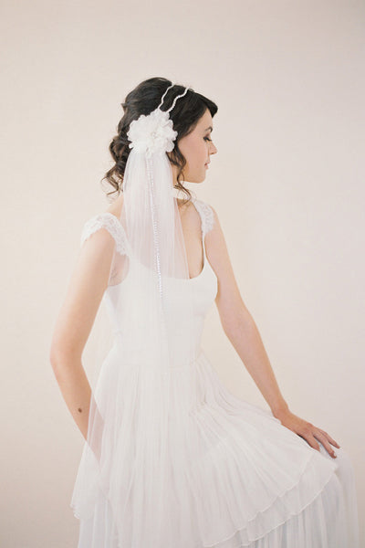 Single Tier Waltz Length Veil #709V-W
