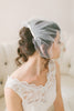 Tulle Birdcage Veil with Bow #716V