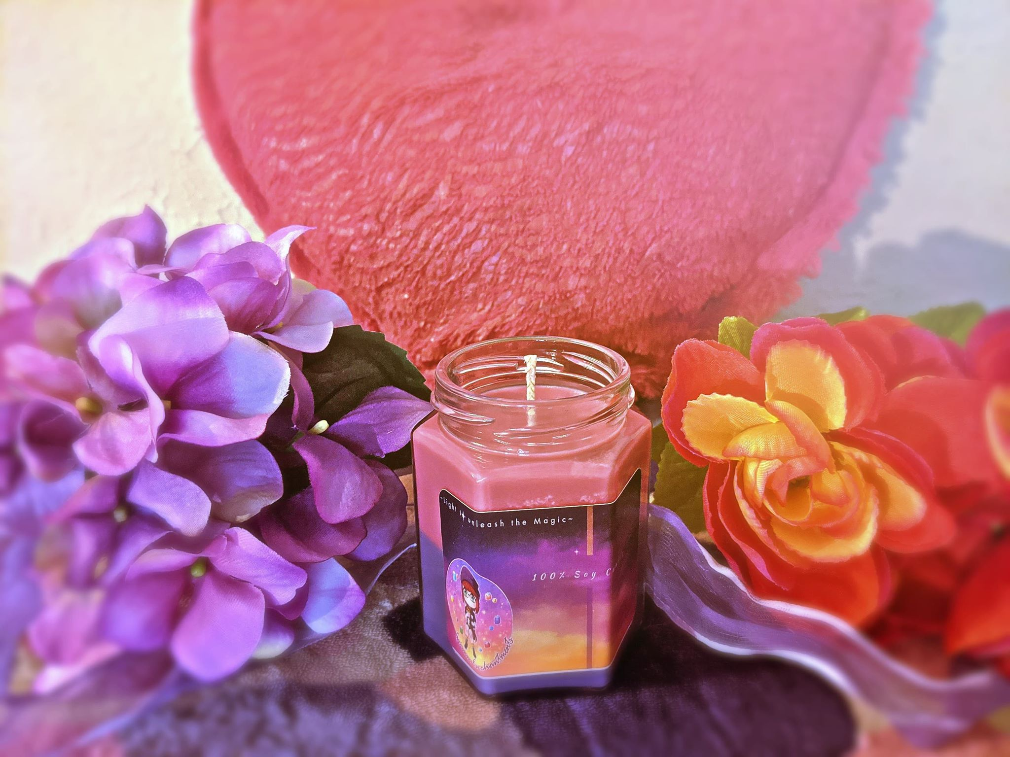Young Love Hex Candle