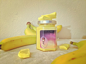 Banana Taffy Hex Candle