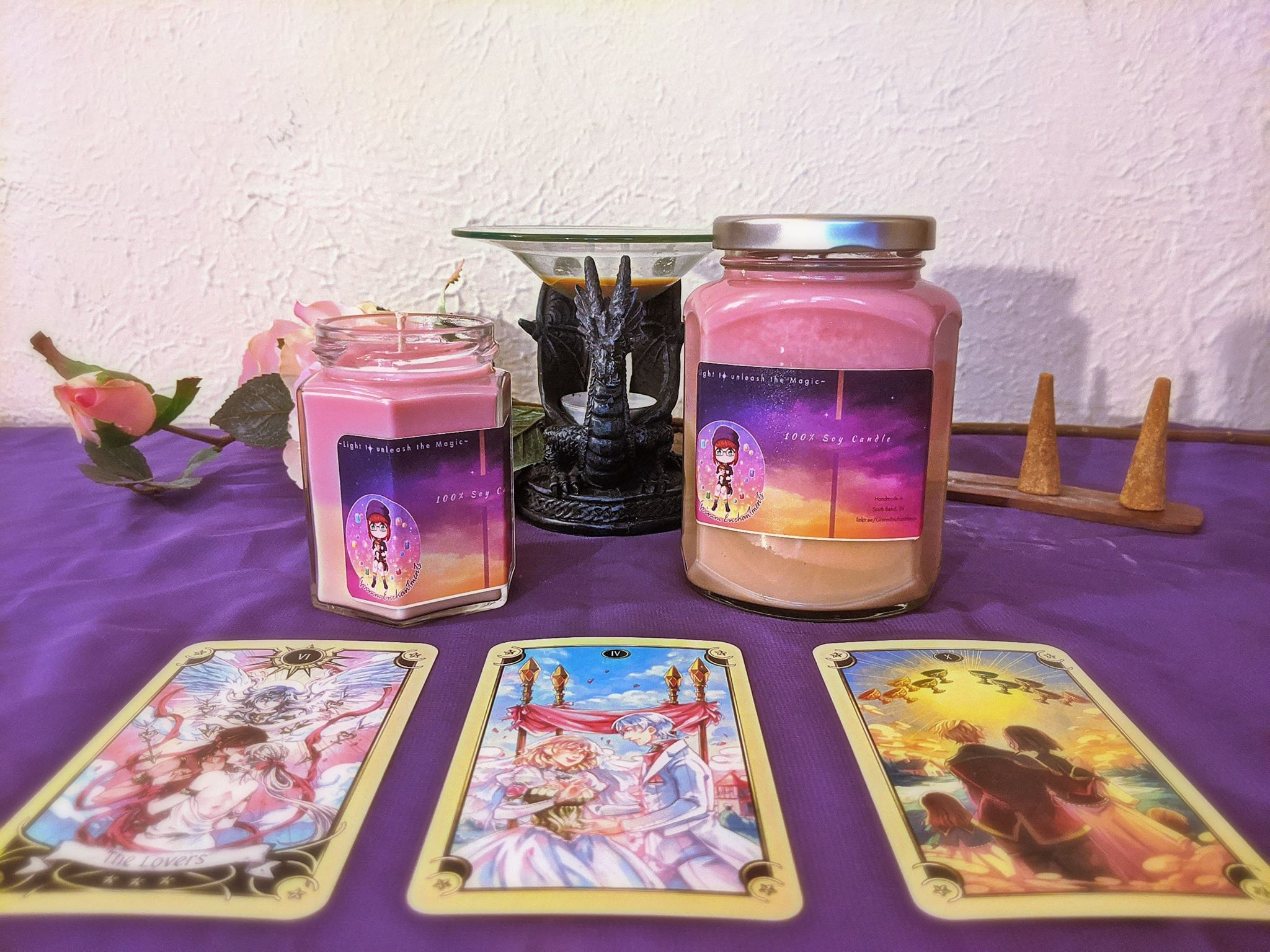 Divination Candle