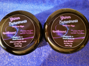 Spellbound Charcoal Sugar Scrub