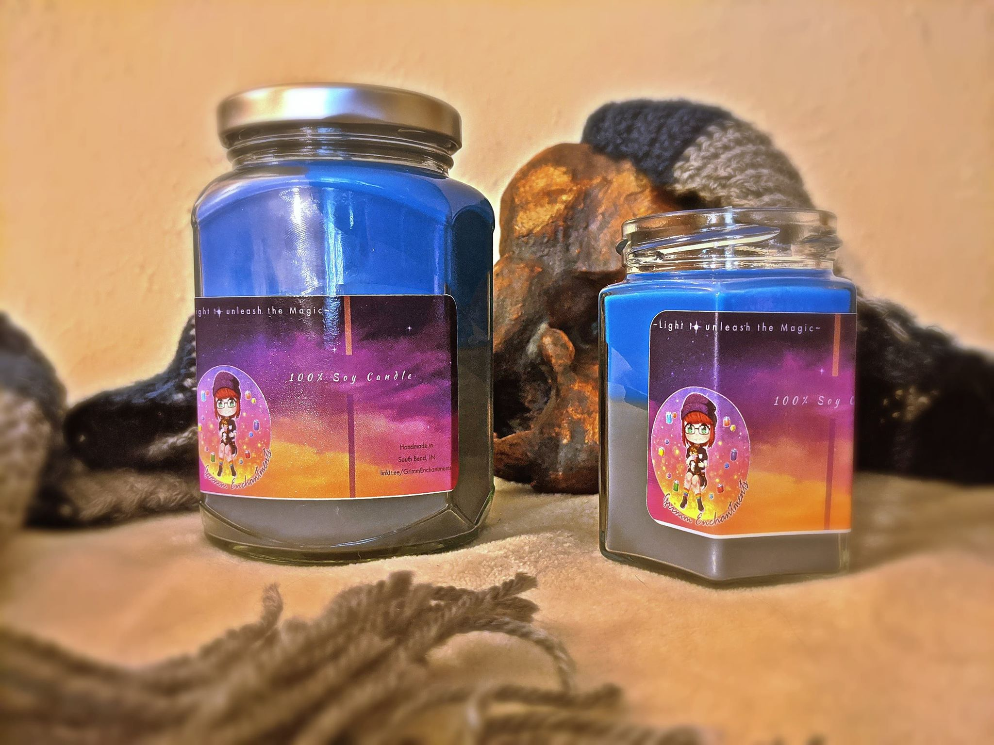 Eldritch Horror Hex Candle
