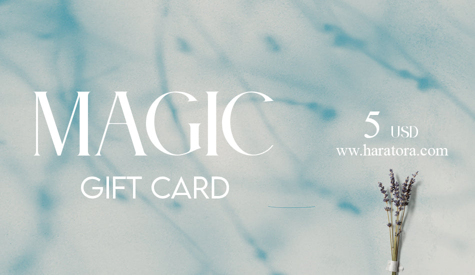 MAGIC GIFT CARD DE 5 US - HAR'ATORA / WONDERLAND SHOP