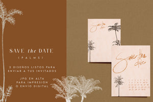 "SAVE THE DATE ""PALMS"" - HAR'ATORA / WONDERLAND SHOP"