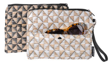 Load image into Gallery viewer, WOVEN CLUTCH White
