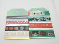 Pastel Washi Tape SAMPLES with Foil Options