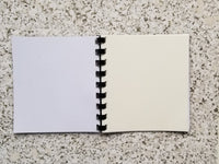 Reusable Sticker Storage Book Album - Panda Ready to Plan Hand Drawn Cover