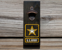 Load image into Gallery viewer, Magnetic Bottle Opener - US Army