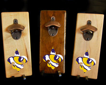 Load image into Gallery viewer, Magnetic Bottle Opener - LSU Tigers - Fleur de Lis/Tiger Eye Logo