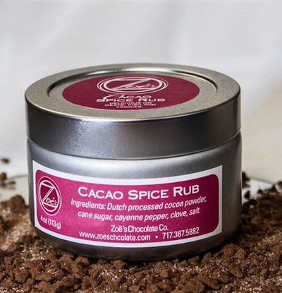 Cacao Spice Rub - Zoe's Chocolate Co.