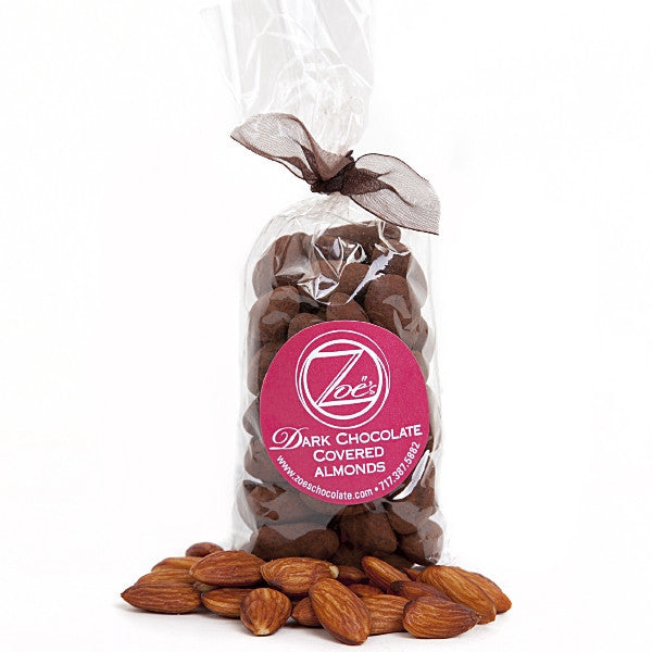 Cocoa Dusted Almonds - Zoe's Chocolate Co.