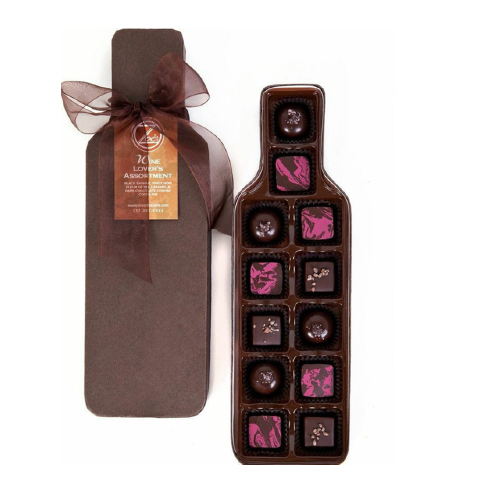 The Wine Lover's Assortment - Zoe's Chocolate Co.