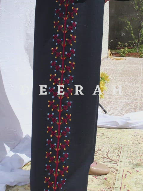 Hand Embroidered Over-sized Madani Blazer