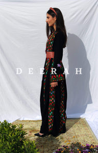 Aya - Hand-Embroidered Traditional Dress Deerah