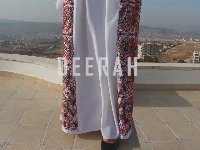 Lana - Hand Embroidered Palestinian Dress Thobe
