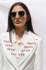 Load image into Gallery viewer, Embroidered Suit Jacket Deerah