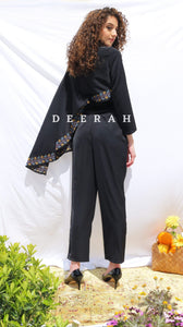 Jude - Hand-Embroidered Jumpsuit Deerah