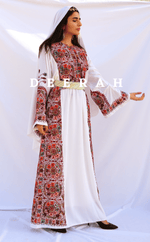 Load image into Gallery viewer, Lana - Hand Embroidered Palestinian Dress Thobe Deerah