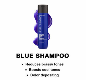 Matrix Total Results Color Obsessed Brass Off Shampoo 300ml - Salon 33 Online