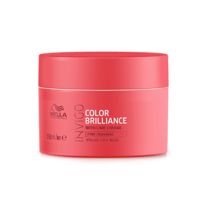 Invigo Brilliance Vibrant Color mask at Salon 33 Hair Co
