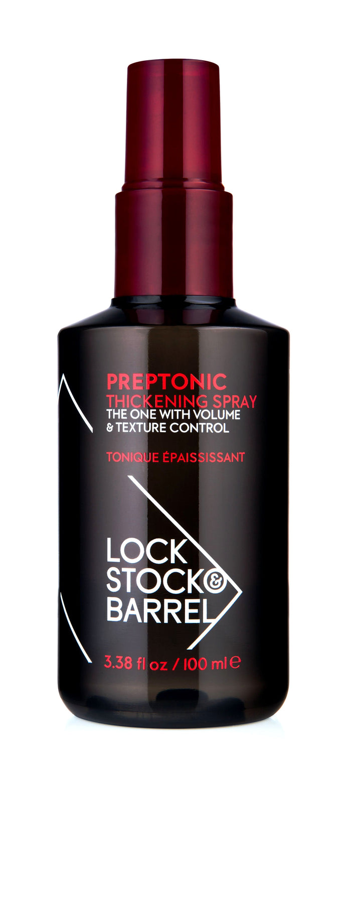 Lock Stock & Barrel Preptonic Thickening Hair Spray 100ml - Salon 33 Online