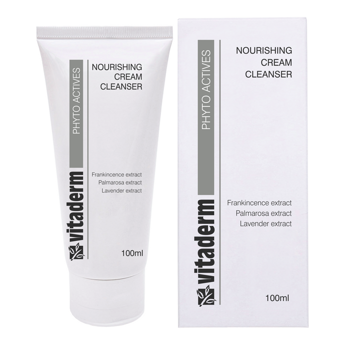 Vitaderm Nourishing Cream Cleanser Skin Care 100ml - Salon 33 Online