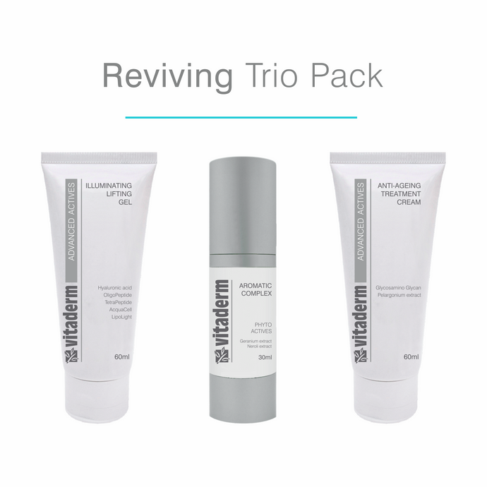 Vitaderm Reviving Trio Pack from Salon 33 Hair Co