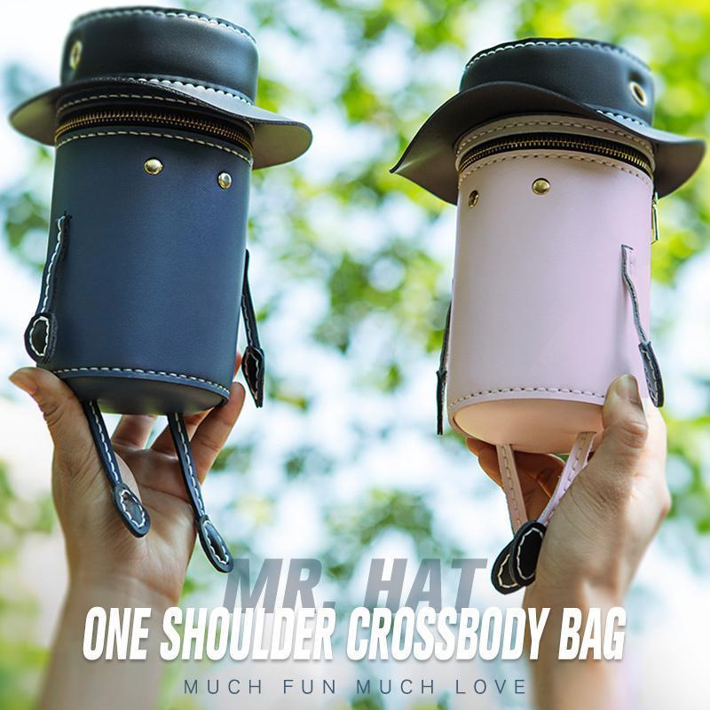 Mr. Hat One Shoulder Crossbody Bag(DIY)