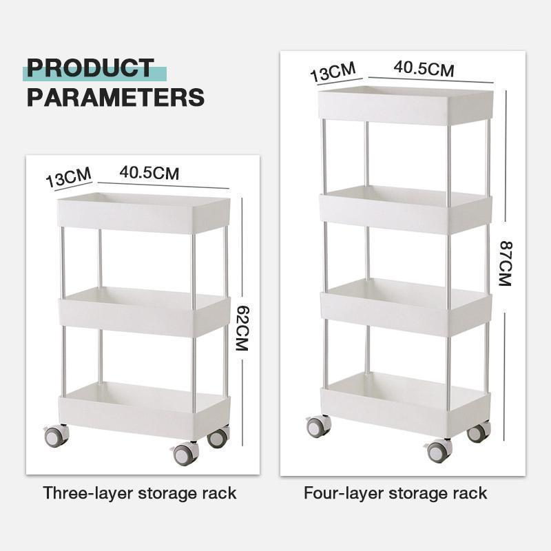 (Ex-factory price!!!)Movable Storage Rack