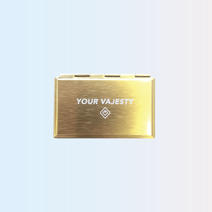 """Your Vajesty"" Compact Mirror - Lovability"