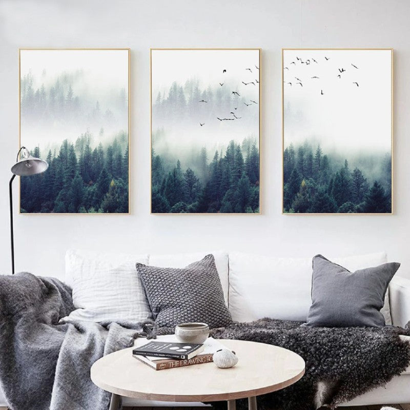 Forest Landscape Wall Art - Urban Decor Outlet
