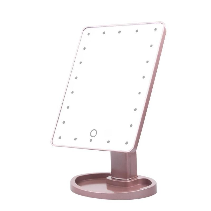 LED Touch Screen Makeup Mirror Glowfulness