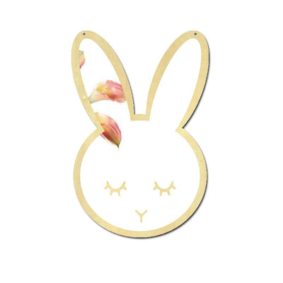Wall Mirror Decal Glowfulness Bunny