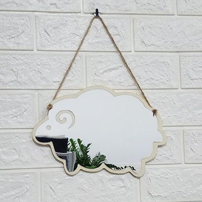 Wall Mirror Decal - Urban Decor Outlet