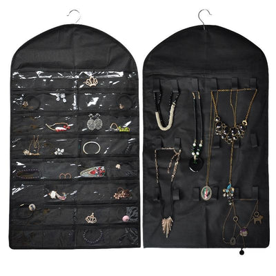 32 Pockets Jewelry Hanger - Urban Decor Outlet
