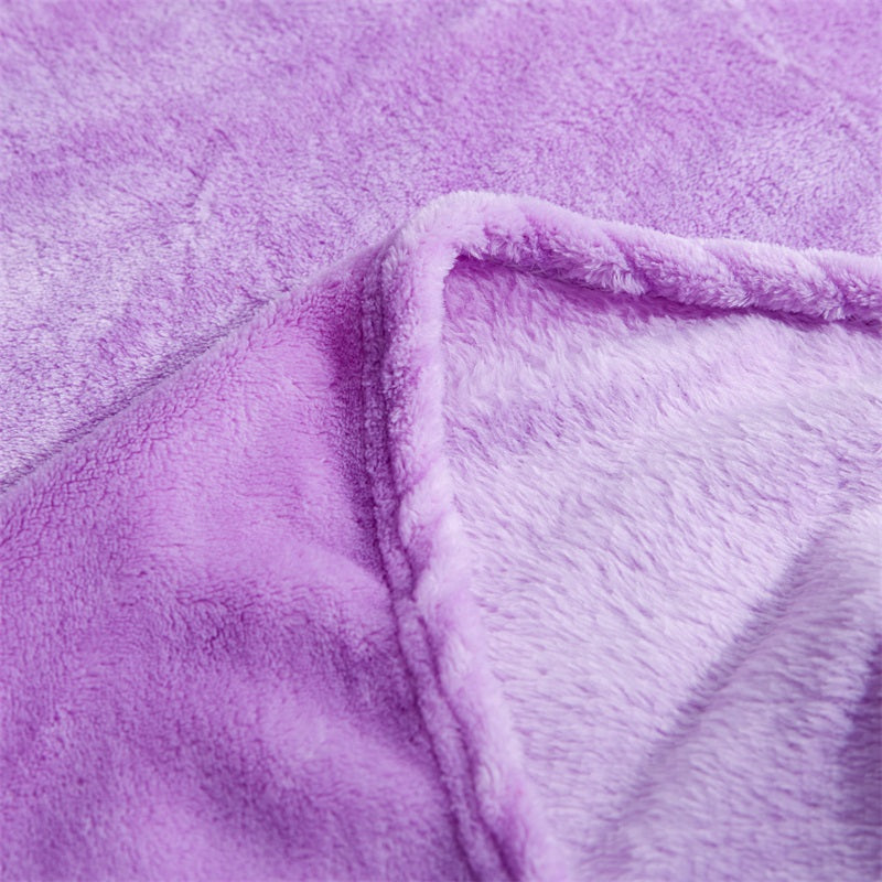 Soft Warm Fleece Throw Blanket - Urban Decor Outlet