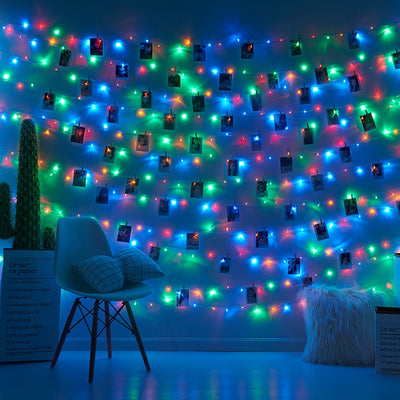LED Photo Clip String Lights - Urban Decor Outlet