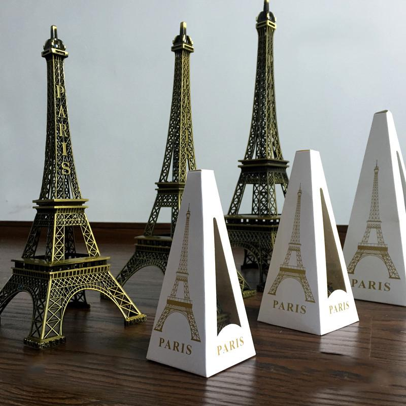 3pcs Metal Paris Eiffel Tower - Urban Decor Outlet