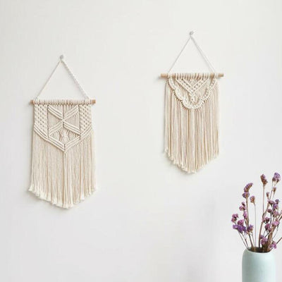 Boho Braided Macrame Wall Decal - Urban Decor Outlet